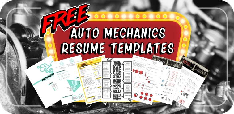 6 free resume templates for auto mechanics to stand out from the crowd
