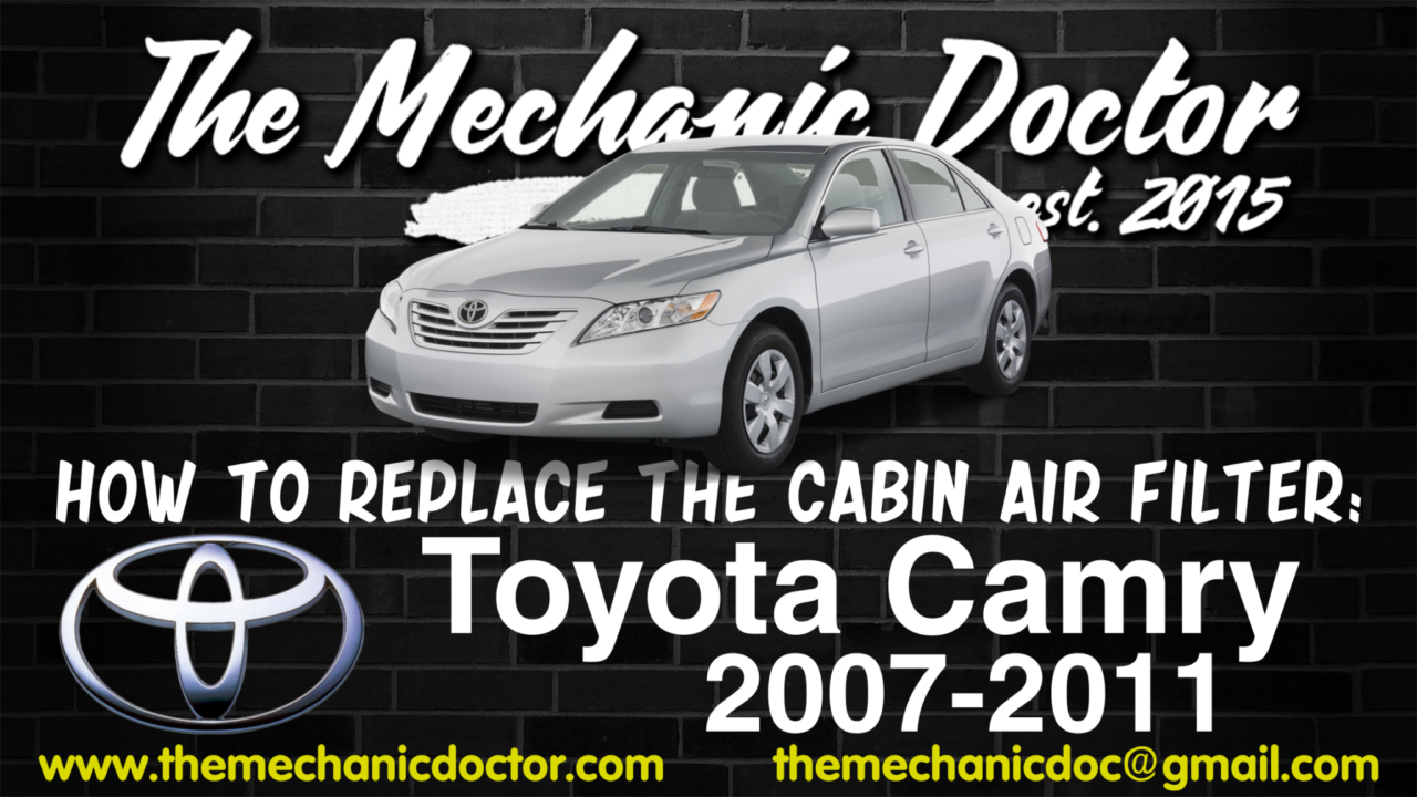 sienna cabin watch replace lexus camry cabins youtube toyota filter avalon solara air