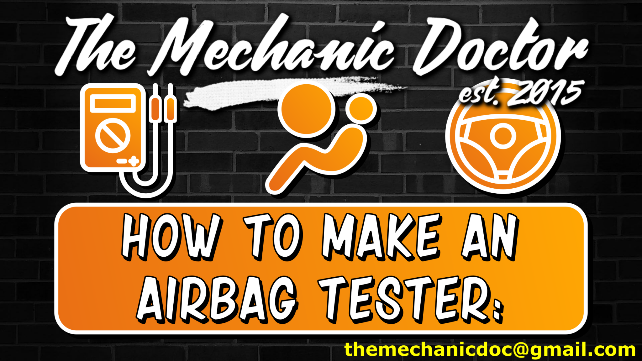 How To Make: DIY Airbag Tester for airbag diagnosis