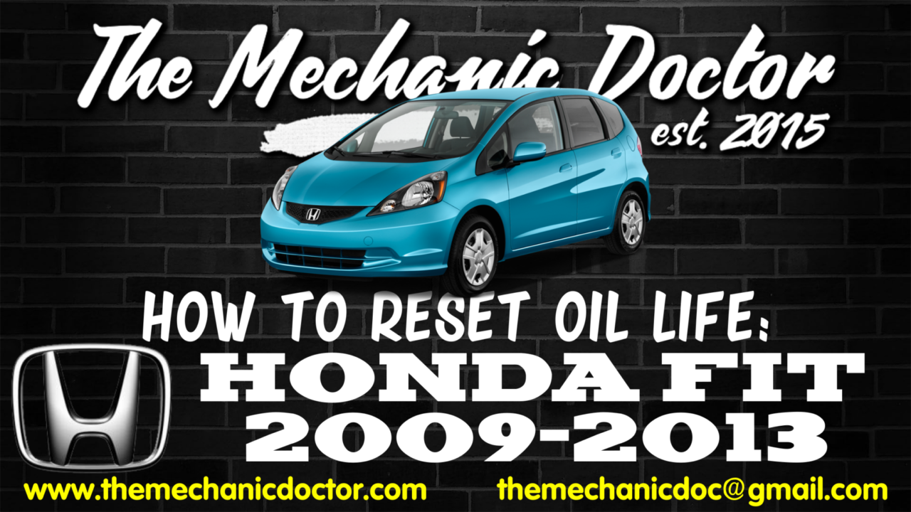 How To Reset Oil Life Honda Fit 2009 2010 2011 2012 2013