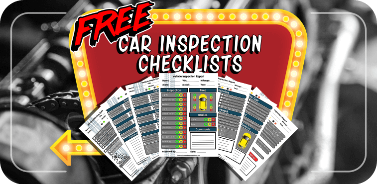 Free Car Inspection Checklist Forms